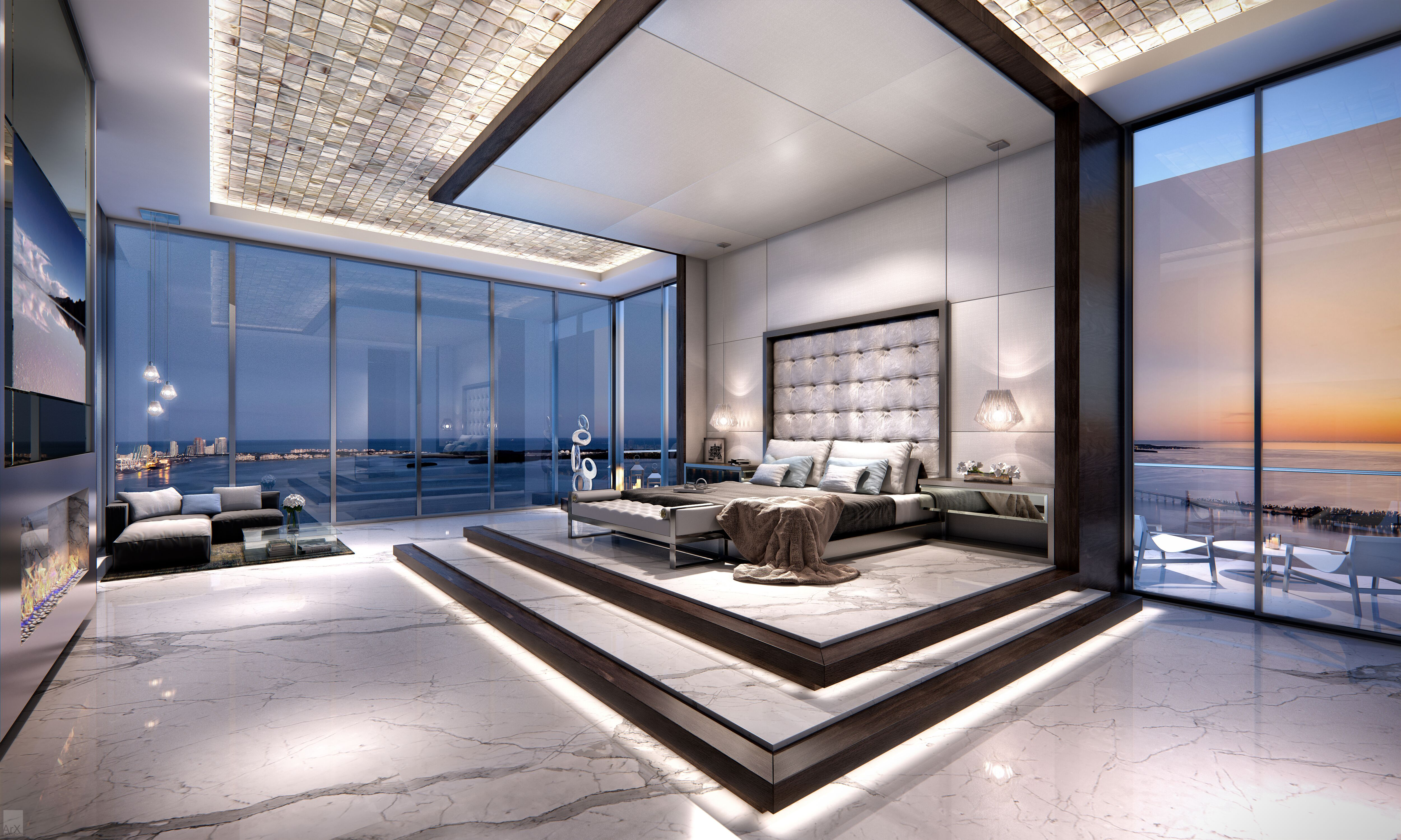 1451 Brickell Ave. PH1 | Miami, FL 33131 4 BR for sale, Brickell ...